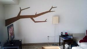 tree branch book shelf cut out improvised