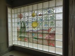 glass block bathroom designs aquarium glass block design in the living laboratory in columbus oh