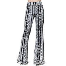 High Waist Bell Bottom Jeans Smt Women U0027s High Waist Wide Leg Long Palazzo Bell Bottom Yoga