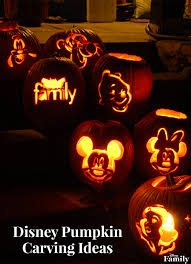 disney pumpkin carving ideas disney family