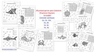 Geologic Time Scale Worksheet Division Practice U2013 Equivalent Fractions Worksheets Homeschool Den