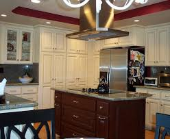 Stove In Island Pics The Multifunctional Look Of Small Kitchen