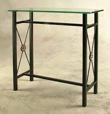small glass console table chelsea metal glass console table kaleidoscope kaleidoscope with