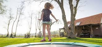 Trampoline Backyard Best Backyard Trampolines Of 2017 Activity Quest