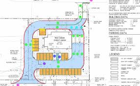 Floor Plan Of A Bank by Red Canoe Bank Site Plan 3c Llc