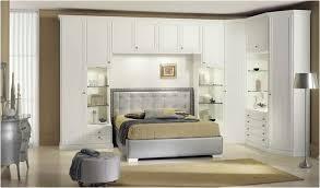 full white bedroom deck bedroom bridge with wardrobe cabinet