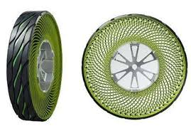 Airless Tires For Sale Car Tyre Used Goes Airless In Tire Concept For Tokyo Show