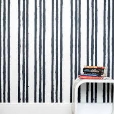 blue u0026 white graffiti stripe wallpaper for children stripes