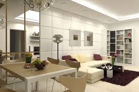 Apartments  Modern Condo Apartment Living Room Interior Design - Small apartment interior design pictures