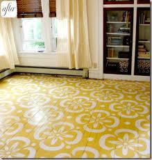 things that inspire painted wood floors