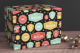 customized wrapping paper personalized gift wrapping paper from minted merriment design