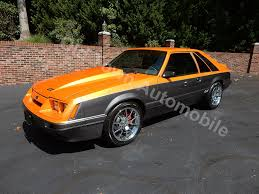 mustang gt 1986 1986 mustang gt 5 0 orange for sale town automobile in