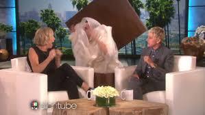 Ellen Bathroom Scares Ellen Degeneres Scare Montage Celebrities Scream With Fright On