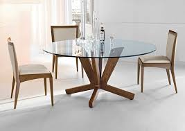 72 inch glass dining table furniture elegant round glass dining table and chairs set