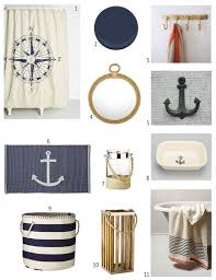 Nautical Bathroom Curtains Nautical Bathroom Inspiration Nautical Bathrooms Bathroom