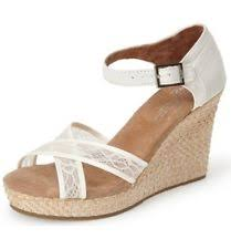 wedding shoes toms tom s bridal or wedding shoes for women ebay