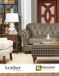 Klaussner Audrina Leather 2017 Catalog By Klaussner Home Furnishings Issuu