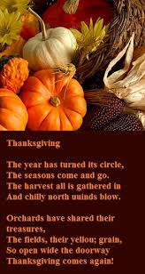Famous Thanksgiving Poem Thanksgiving Poems On Pictures