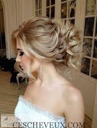 chignon mariage de belles coiffures de mariage pour cheveux longs cheveux coiffure