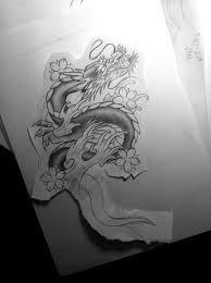 japanese dragon tattoo design by jessybell19 on deviantart