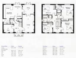 4 bedroom 2 story floor plans luxamcc org