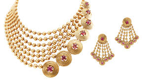 gold set azva gold set gems and jewels gold set gold and