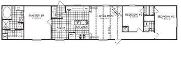 Open Layout Floor Plans 3 Bedroom Floor Plan C 9113 Hawks Homes Manufactured
