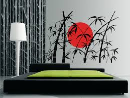 bamboo wall art winda furniture bamboo and rising sun wall sticker