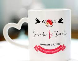 personalized mugs for wedding anniversary mugs etsy