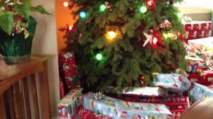 dog finds gifts under christmas tree youtube