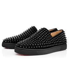 roller boat men u0027s flat black black bk suede men shoes