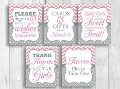 Baby Shower Candy Buffet Sign by Baby Girls Are So Sweet Please Take A Treat 8x10 Printable Baby