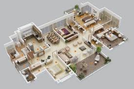 fantastic 100 4 bedroom house plans 2 story superb two story 6 3d