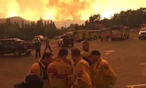 Wildfire Yosemite 2013 by Crews Report Progress Against Yosemite Area Fire Kpbs