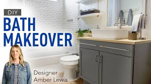 blogger vs builder grade bath amber interiors youtube