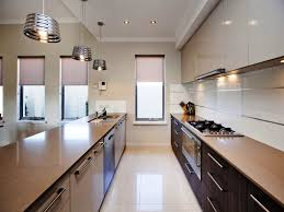 modern galley kitchen ideas kitchen a modern galley kitchen ideas with cabinet and ls