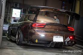 rx7 car shop glow original rx7 fd3s original led tail lights ver 1