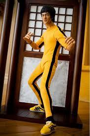bruce yellow jumpsuit bruce bodysuit costume 4kigurumi com
