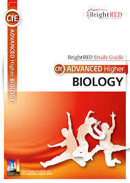 brightred publishing cfe advanced higher biology study guide