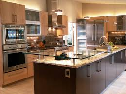 recycled countertops two level kitchen island lighting flooring