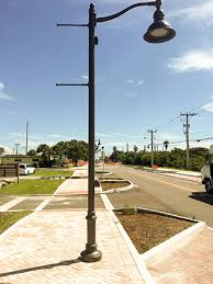 utility pole light fixtures decorative arms for street ls pemco lighting products