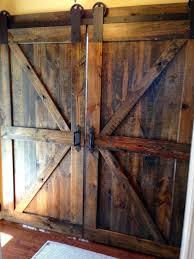 Cedar Barn Door British Brace Double Barn Doors Dark Walnut By Dixonanddad On Etsy