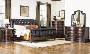 Fairmont Designs Furniture Fairmont Designs Grand Estates Leather Queen Sleigh Bedroom The