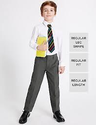 boys light blue dress pants plus size and skinny fit uniforms m s