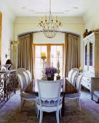 interior classy mediterranean style home interior dining room