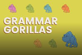 grammar gorillas a game on funbrain