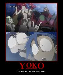 Gurren Lagann Memes - yoko divided by 0 by pyrodarkfire on deviantart