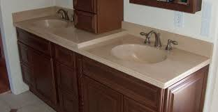 Bathroom Vanity Counters Bathroom Vanity Concrete Designs For Bathroom Vanities Counters