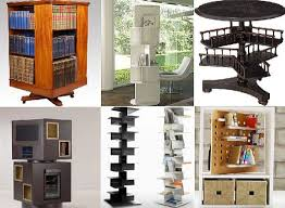 Woodworking Plans Bookshelves by Rotating Bookcase Designs α Pinterest Bookcase Plans