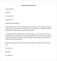introduction letter template 100 images exle sales letter